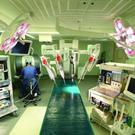 Robotic surgery has become increasingly popular since its introduction to the UK in 2000 Credit PA