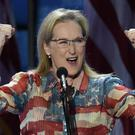 Actress Meryl Streep addresses the Democratic National Convention at the Wells Fargo Center, July 26, 2016 in Philadelphia, Pennsylvania. Photo: SAUL LOEB/AFP/Getty Images