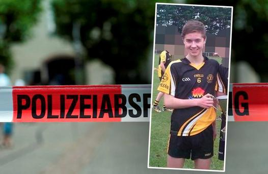 Jack McHugh (16) from Corofin in Co Galway was left critically ill following a swimming accident in Munich last Monday.
