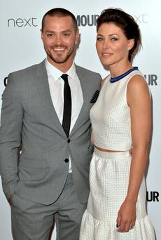 Emma Willis and Matt Willis attend the Glamour Women Of The Year Awards last year. (Photo by Anthony Harvey/Getty Images)