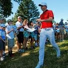 Rory McIlroyat Baltusrol Golf Club in Springfield