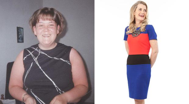 Sarah Lynch lost more than 7 stone