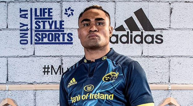 Adidas ambassador Francis Saili is excited to link up with Rory Scannell. Photo: Dan Sheridan/INPHO