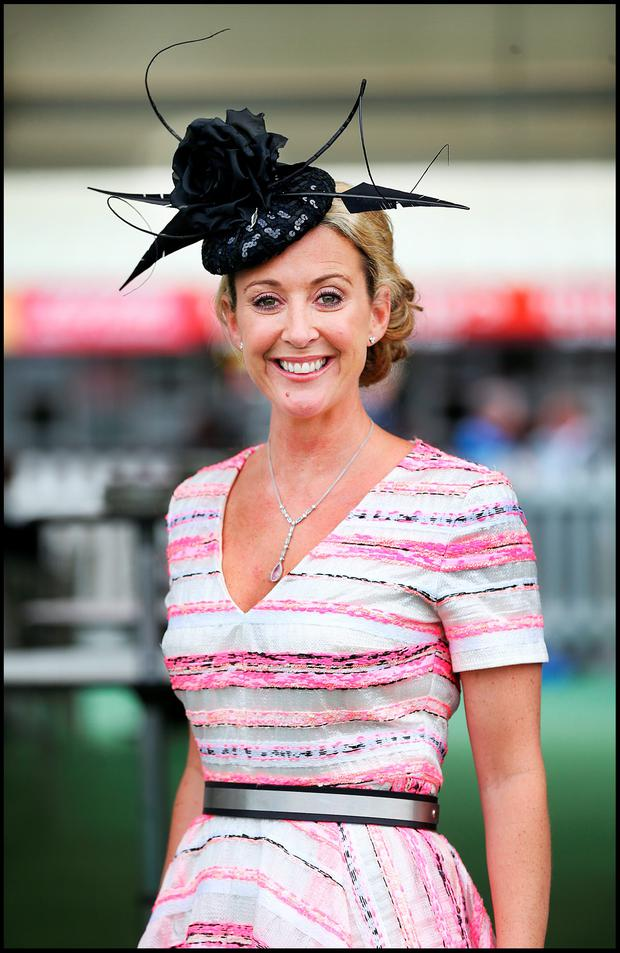 At the Galway Races yesterday was Chanelle McCoy. Photo: Steve Humphreys and PA