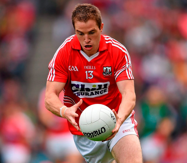 Cork's Colm O'Neill. Photo: Stephen McCarthy / Sportsfile