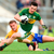 Kerry's Paul Murphy and Sean Collins of Clare are set to renew rivalry on Sunday. Photo: Diarmuid Greene/Sportsfile