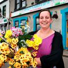Jenny White, who runs a gift and flower shop in Ballymahon Photo: Frank McGrath
