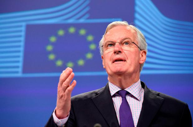 EU negotiator Michel Barnier Picture: AFP/Getty Images