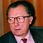 The former EU Commission President Jacques Delors