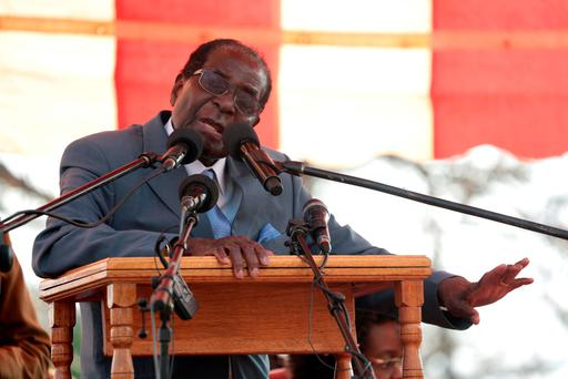 Zimbabwe's 92-year-old president on Wednesday said the longtime loyalists who turned against him last week should face