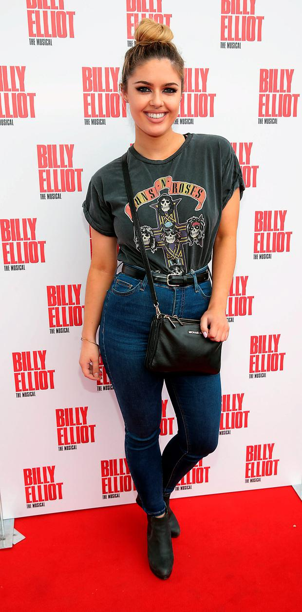 Bonnie Ryan at the Irish premiere of Billy Elliot The Musical atthe Bord Gais Energy Theatre. Pictures: Brian McEvoy