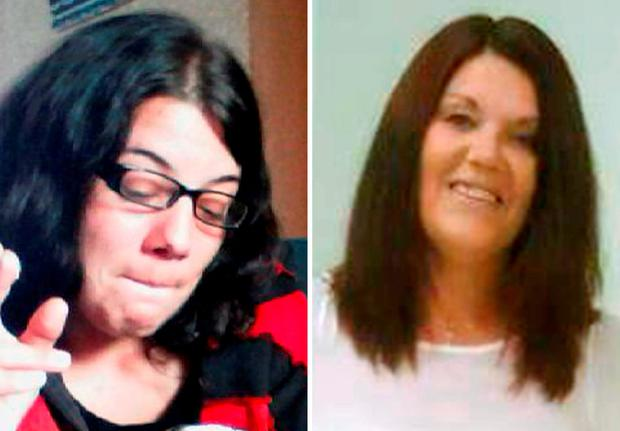 Jodie Betteridge (left) and Lynne Freeman, who died in two separate attacks in Redcar, just minutes apart Credit: Cleveland Police/PA Wire