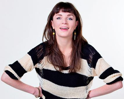 In-demand: Kildare-native Aisling Bea has been doing stand-up and acting jobs in the UK for 10 years Photo: Karla Gowlett