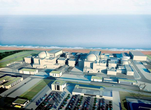 A CGI image of Hinkley Point C. Photo: EDF Energy/PA Wire