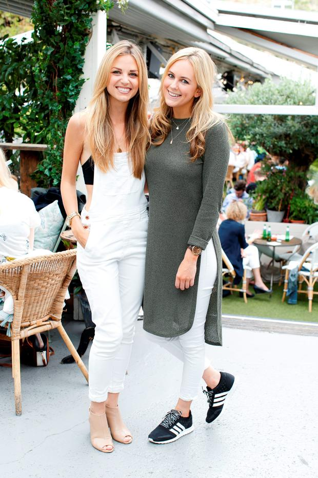 Ruth O'Neill and Cassie Stokes pictured at The House of Peroni in House, Dublin. Picture: Andres Poveda