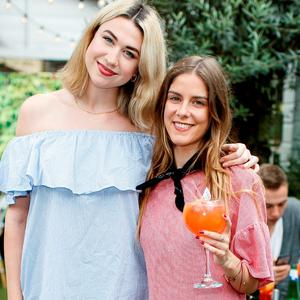 Avril Delaney and Ciara Walsh at The House of Peroni Presents Italian Brunch in House, Dublin. Picture: Andres Poveda