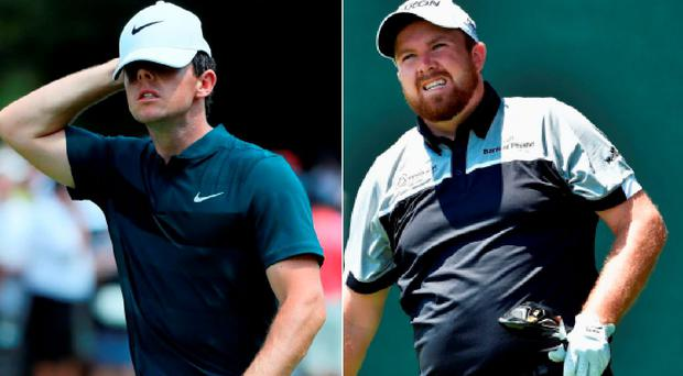 Rory McIlroy and Shane Lowry will need better second rounds