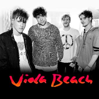 The cover of the debut album from Viola Beach which has been posthumously released, comprising of songs the band recorded before they were killed in a car crash in Sweden. Photo: Viola Beach/PA Wire