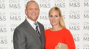 Mike Tindall and Zara Phillips at the 2016 Marks & Spencer Ireland Marie Keating Foundation Celebrity Golf Classic. Picture: Kieran Harnett