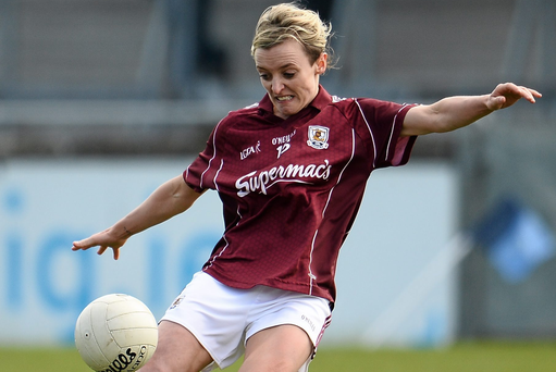 10 April 2016; Edel Concannon, Galway. Lidl Ladies Football National League, Division 1, Dublin v Galway, Parnell Park, Dublin.