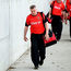 Stephen Rochford arrives prior to the qualifier against Kildare at MacHale Park in Castlebar - the Mayo manager will be hoping his players can deliver another winning performance against Westmeath today. Photo: Stephen McCarthy/Sportsfile