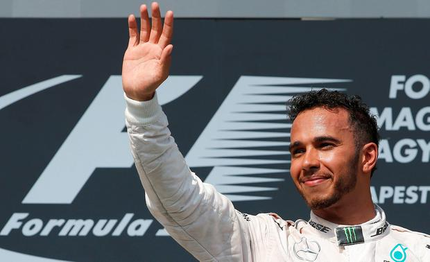 Even though he has wiped out Rosberg's lead, Hamilton's mentality is still that of a man on the back foot. Photo: AP Photo/Darko Vojinovic