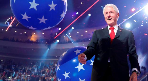 Bill Clinton came to try and woo the doubters with that well-worn charm deployed in so many battles (Photo by Chip Somodevilla/Getty Images)