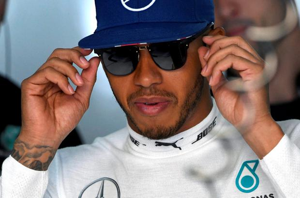Lewis Hamilton. Pic: AP Photo/Jens Meyer