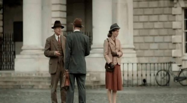 Trinity College in the series Foyle's War