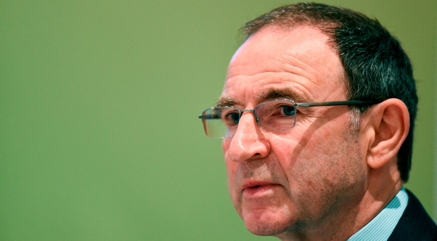 Martin O'Neill in a thoughtful mood in Clonmel yesterday. Photo: David Maher/Sportsfile