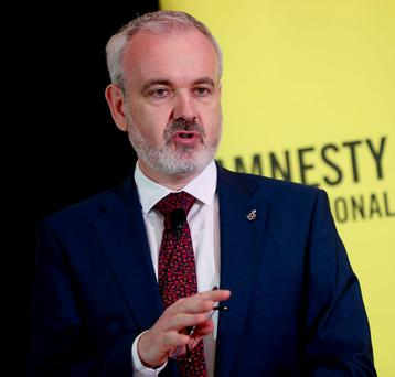 Colm O'Gorman of Amnesty Ireland Picture: Maxwells