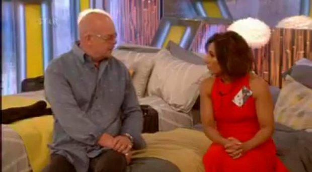 James Whale and Saira Khan