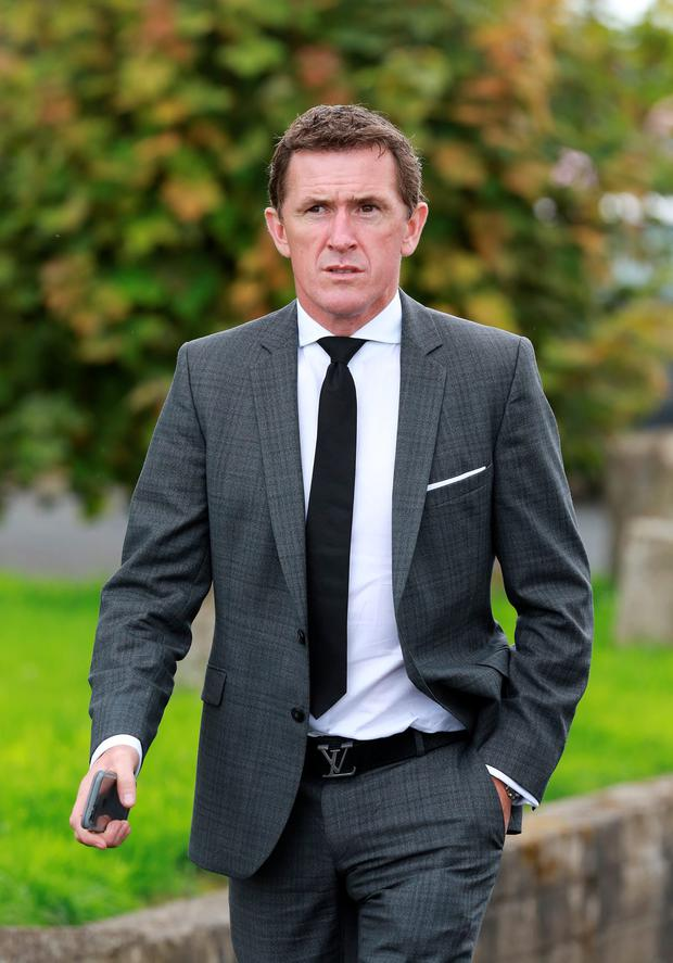 Mourners at the funeral of JT McNamara included AP McCoy Photo: Frank McGrath