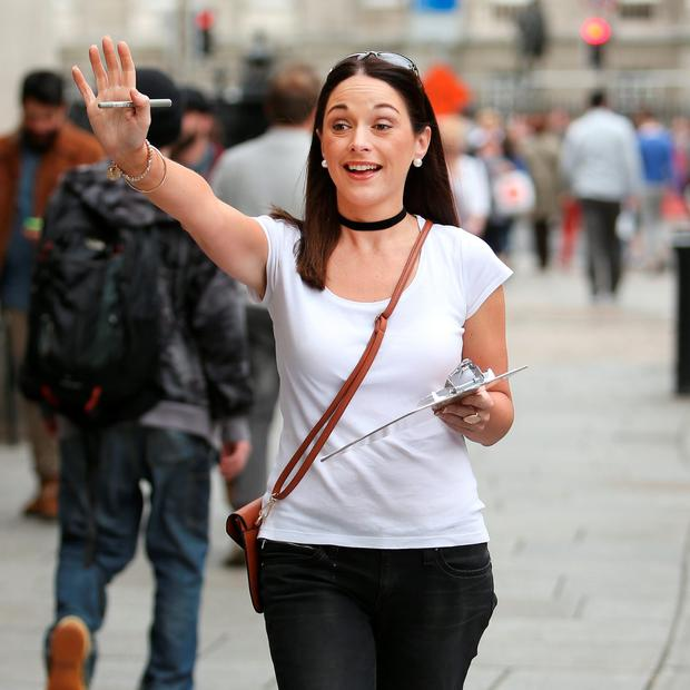Sarah Jane Murphy pictured for feature on 'Chugging'. Picture; Gerry Mooney.