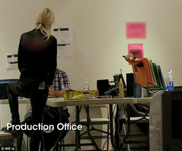 Tara Reid storms the production office on Marriage Boot Camp: Reality Stars