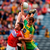 Peter Kelleher of Cork stretches for the ball against Donegal's Eamonn McGee and goalkeeper Mark Anthony McGinley during yesterday's qualifier clash in Croke Park. Photo: Sportsfile