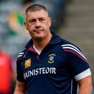 Westmeath manager Tom Cribbin spoke from the heart about how difficult it was trading blows with his native county. Photo: Sportsfile