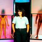 THE NAKED HORSEMEN AND WOMEN OF THE APOCALYPSE: Presenter Anna Richardson with a pair of contestants on show like at a horse fair. Photo: Channel 4/PA Wire