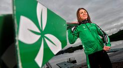 Irish Olympic rower Sinéad Jennings. Photos: Daragh McSweeney