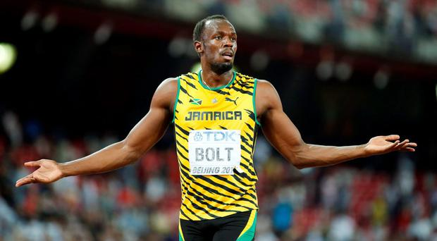 Usain Bolt: 'World records are great, but they can be broken'. Photo: Reuters