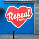 Writing's on the wall: The controversial mural in Temple Bar for pro-choicers that was painted over last week