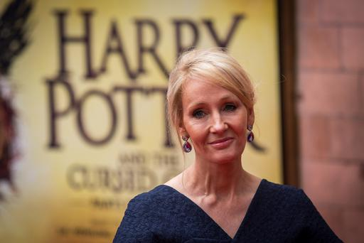J. K. Rowling attends the press preview of