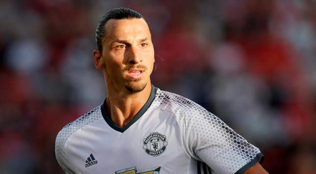 Manchester United's Zlatan Ibrahimovic. Photo: Henry Browne/Action Images via Reuters