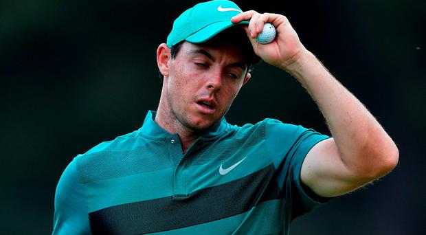 Rory McIlroy could do with a new putter anyway