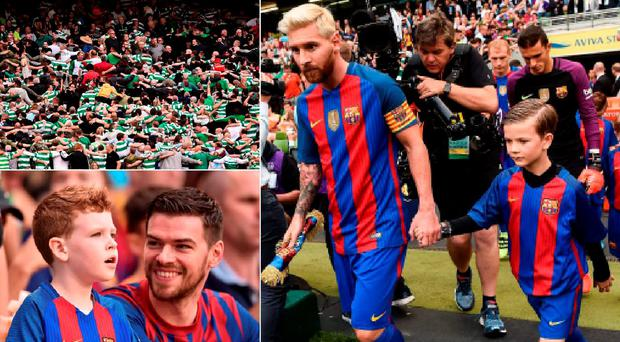 The Barcelona v Celtic friendly in Dublin was a wasted opportunity for Irish football