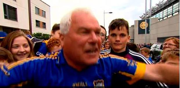 Effin Eddie Moroney after Tipp's historic win