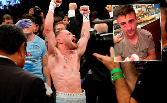Gregg Megaw missed the Carl Frampton fight after he was assaulted in New York
