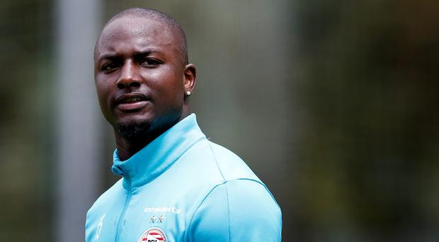 Jetro Willems of PSV during the pre-season training camp