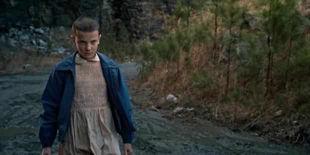 Eleven in Stranger Things. Photo: Netflix