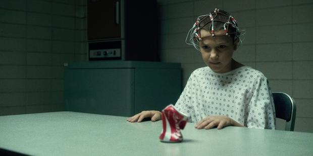 Millie Bobby Brown as Eleven in Stranger Things. Photo: Netflix